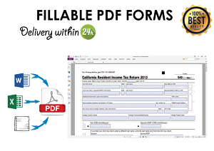 I will create fillable PDF forms in Adobe Acrobat Pro DC