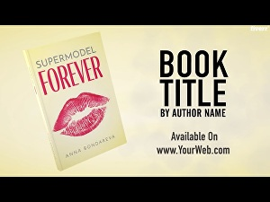 I will create an amazing book trailer video