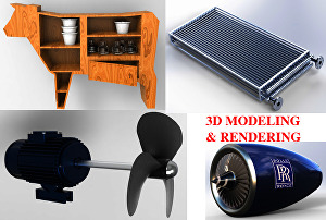 I will do Professional Product Designing and Realistic Rendering
