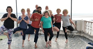 I will give you Online Senior Citizen easy yoga class