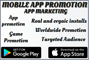 I will do organic app promotion, game promotion, mobile app, game marketing to get downloads and