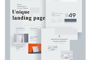 I will design responsive landing page by wordpress