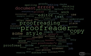 I will work with you to proofread any document of up to 4000 words