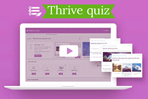 I will Create wordpress quiz with thrive quiz builder