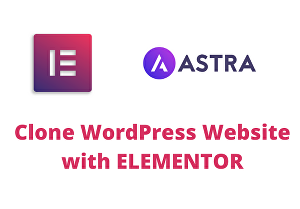 I will clone your WordPress website with elementor pro
