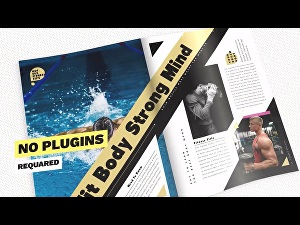 I will Create Your Amazing Book And Magazine Promo Video Trailer