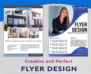 I will design perfect flyers