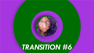 I will produce video transition stinger from +1000 template selection for OBS, Streamyard, Ecamm