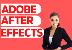 I will edit any work in adobe after effect