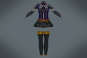 I will create realistic 3d clothing from digital pattern, sketches