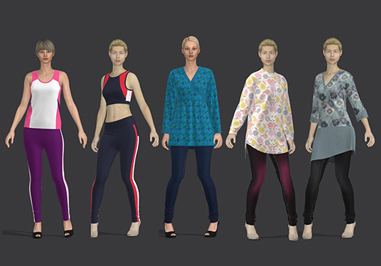 do 3d sewing pattern for garments