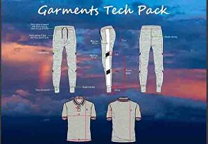 I will do garments tech pack and technical design