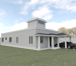 I will do 3d exterior design, modelling and realistic rendering