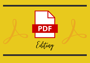 I will edit Pdf document in 24 hours