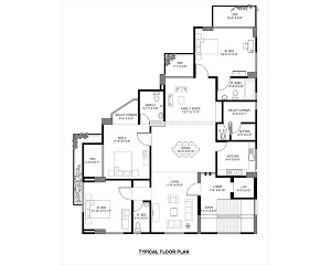 I will draw architectural 2d floor plan in AutoCAD