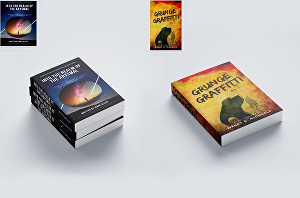 I will do book cover design