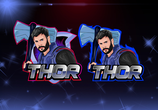 design vector mascot esport logo twitch,youtube etc from your photo