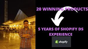 I will find Shopify winning products for you