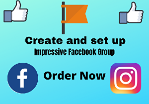 I will create and set up impressive facebook group for you