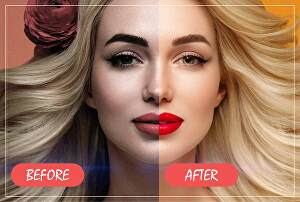 I will do professional photoshop retouching, fast and high quality