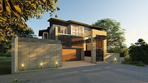 I will develop architectural design, realistic image render, 3d model