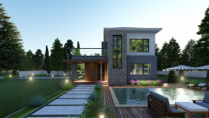 I will do your 3d model and interior architecture rendering