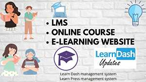 I will design WordPress LMS website and Learndash LMS