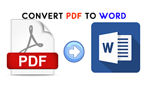I will convert PDF to word without losing the formats or designs 100% accurate