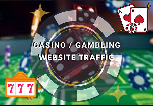 I will drive casino targeted visitors to your link