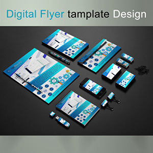 I will design a flyer, bifold, trifold, brochure, poster, or leaflet