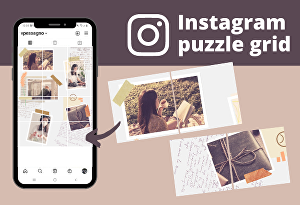 I will create a stunning Instagram puzzle for you