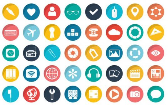 Design a Flat And Attractive Icon set of 3 to 5 Icons