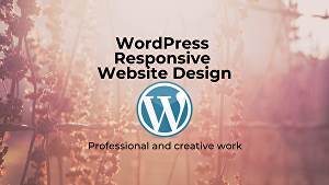 I will design responsive WordPress website of 2-3 pages