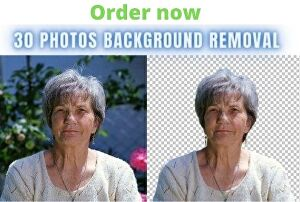 I will do background removing task for you