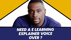 I will record an  amercian voice over for your e learning or training program