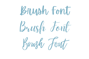 I will Write Your Message or Text in Brush lettering Style