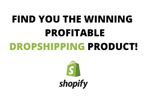 I will find winning products for your Shopify dropshipping store