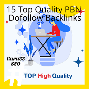I will build 15 Permanent PBN Dofollow Homepage Backlinks DA/40+  and DR/60+