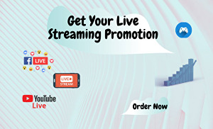 I will Organically promote your Live streaming video through my secret method and SEO