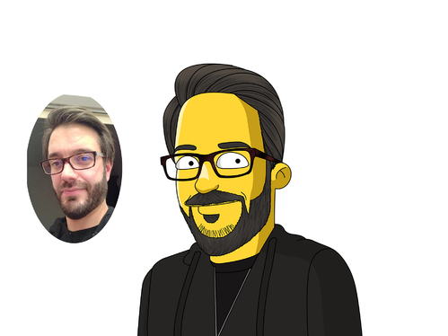 do a perfect simpson style portrait in 24 hours