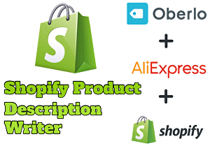I will do Shopify SEO with writing product description