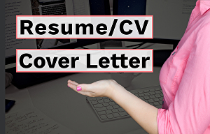 I will design resume CV and cover letter
