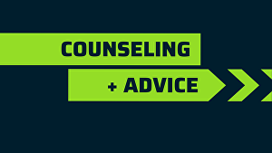 I will be your counsellor or therapist