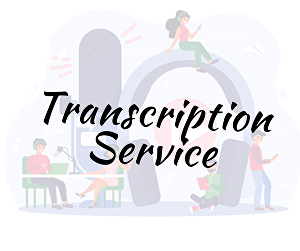 I will do transcription for your videos and audios