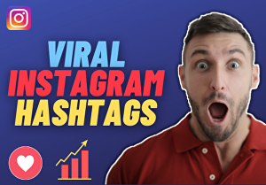 I will find effective hashtags to rapidly grow your Instagram in 24 hr