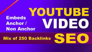 I will do SEO backlinks for best youtube video ranking