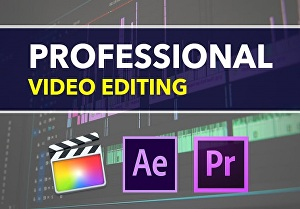 I will do video editing, Audio mix, titles, cleanup, color grading