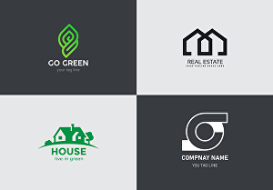 I will do flat minimalist logo design