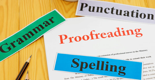 professionally proofread, edit and format your documents