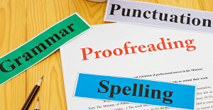 I will professionally proofread, edit and format your documents